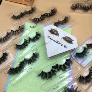 make your own eyelash box