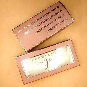 empty eyelash packaging wholesale