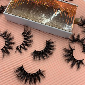 Custom Eyelash Packaging USA Wholesale Mink Lashes