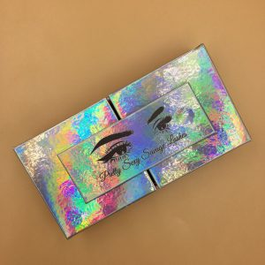 Holographic Eyelash Packaging