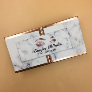Marble Design Eyelash Door Packaging