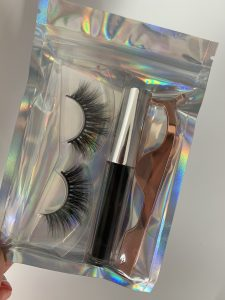 holographic lash bags