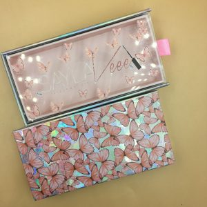 Popular Butter fly Drawer Holographic Lash Packaging Boxes