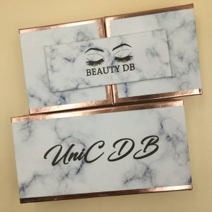 Double Door Eyelash Packaging Wholesale Mink Lashes and Packaging